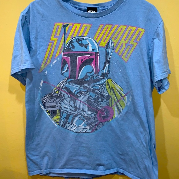 Star Wars Men's SzLg light blue T-Shirt